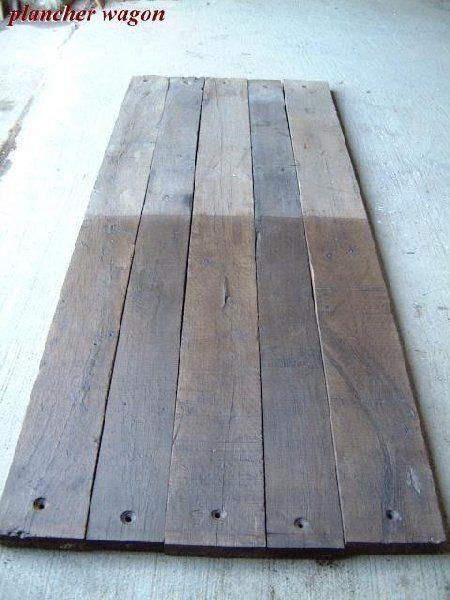 planchers bois