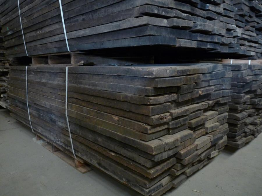 plancher de wagon brut 45mm ch ne bca mat riaux anciens. Black Bedroom Furniture Sets. Home Design Ideas