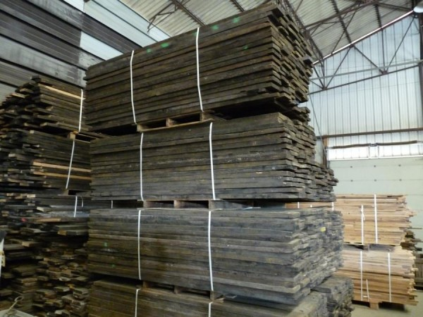 Plancher, parquet wagon brut 45mm / oak wagon boards