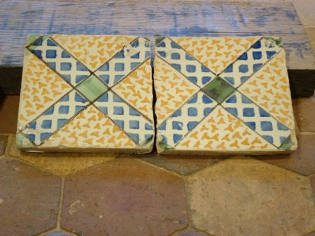 tomettes anciennes maill es de r cup ration bca mat riaux anciens. Black Bedroom Furniture Sets. Home Design Ideas