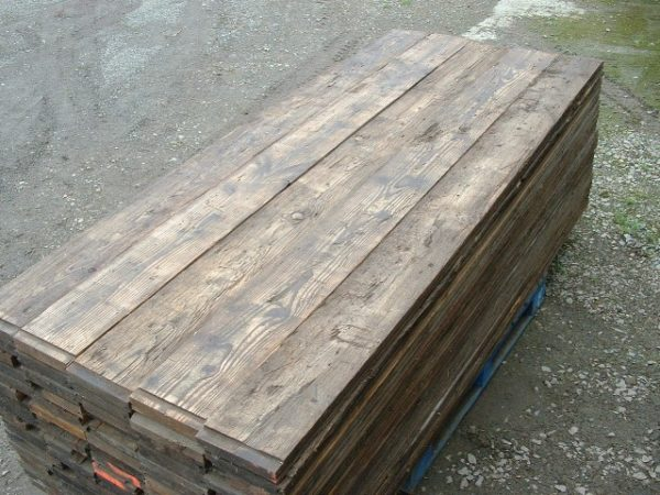 PLANCHER parquet WAGON SAPIN / pine wagon boards