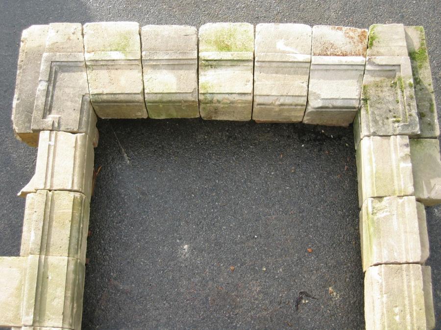 Fen tre pierre calcaire for Decoration linteau fenetre