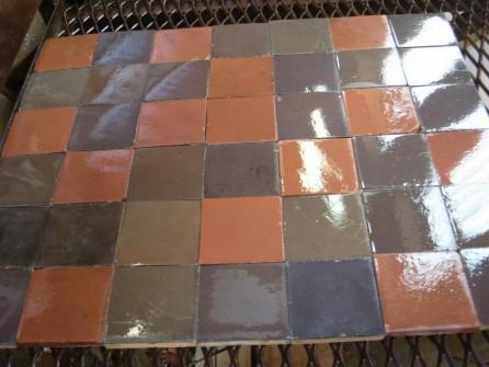 Carrelage ancien en c ramique patchwork bca mat riaux for Carrelage ceramique ancien