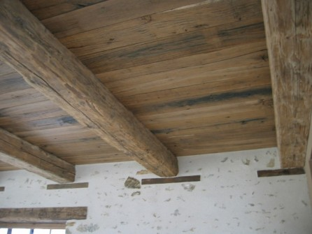 Plafond Vieux Bois Vieux Ch Ne Bca Mat Riaux Anciens
