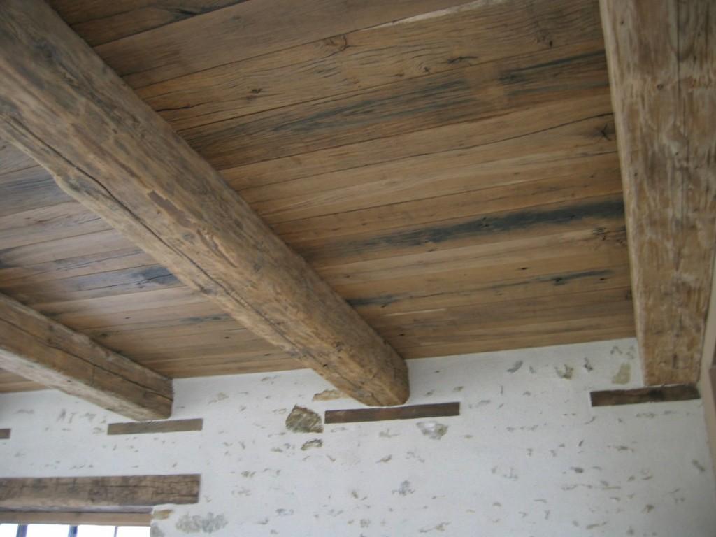 plafond vieux bois vieux ch ne bca mat riaux anciens. Black Bedroom Furniture Sets. Home Design Ideas