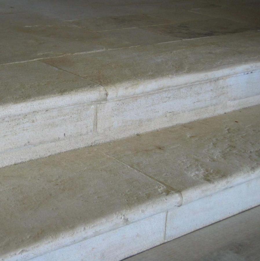 marche en pierre ancienne patine authentique bca. Black Bedroom Furniture Sets. Home Design Ideas