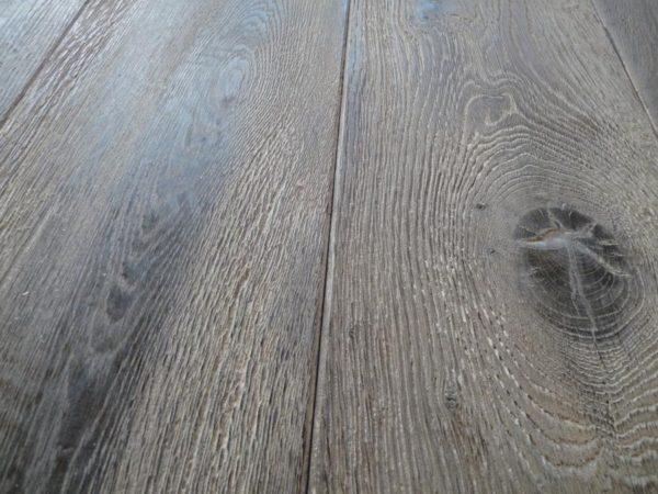 Parquet chêne vieilli naturel gris poivre