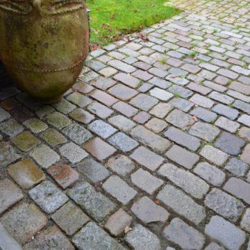 pavé ancien en granit