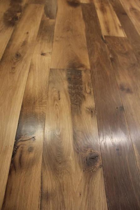 plancher ch ne ancien rabot vieux bois bca mat riaux anciens. Black Bedroom Furniture Sets. Home Design Ideas
