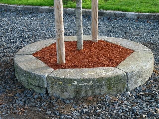 Bordure ancienne pour tour d 39 arbre pierre granit bca for Bordure de jardin en pierre naturelle