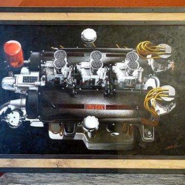 tableau moteur ferrari