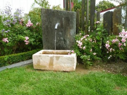 Fontaine de jardin en pierre ancienne bca mat riaux anciens - Bassin ancien de jardin orleans ...