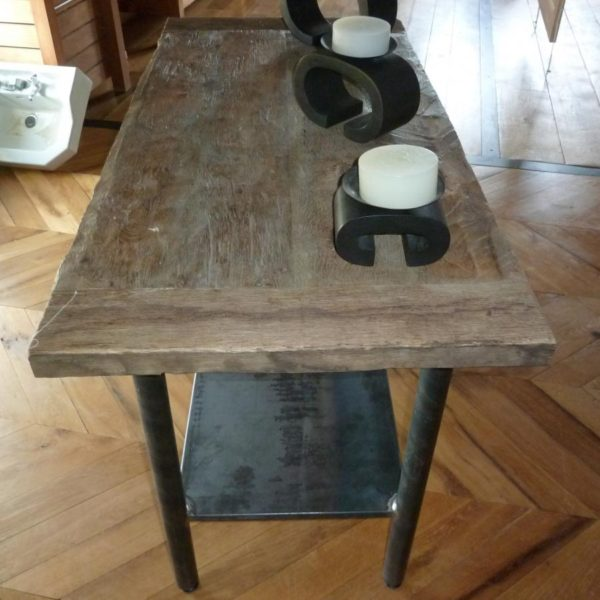 Table ancienne rectangulaire en bois