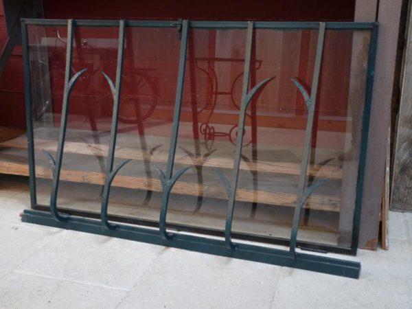 portes anciennes ventail metal