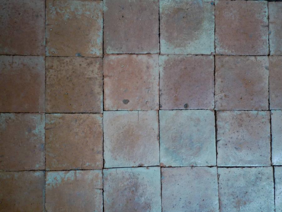 Carrelage ancien en terre cuite 28x28 cm bca mat riaux for Carrelage ancien terre cuite