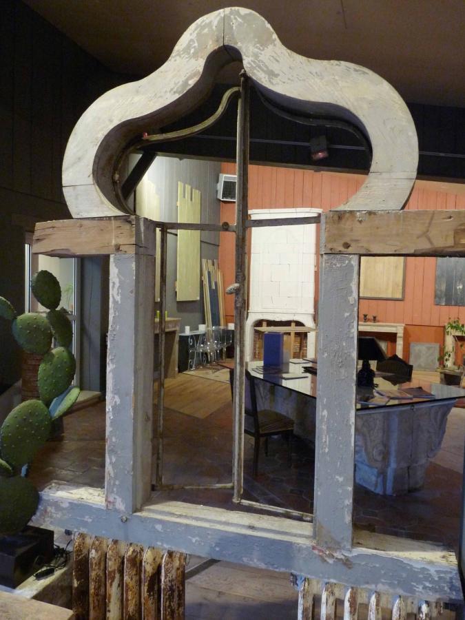 Fen tre bois et fer forg for Decoration fenetre fer forge