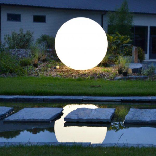 sphere lumineuse deco