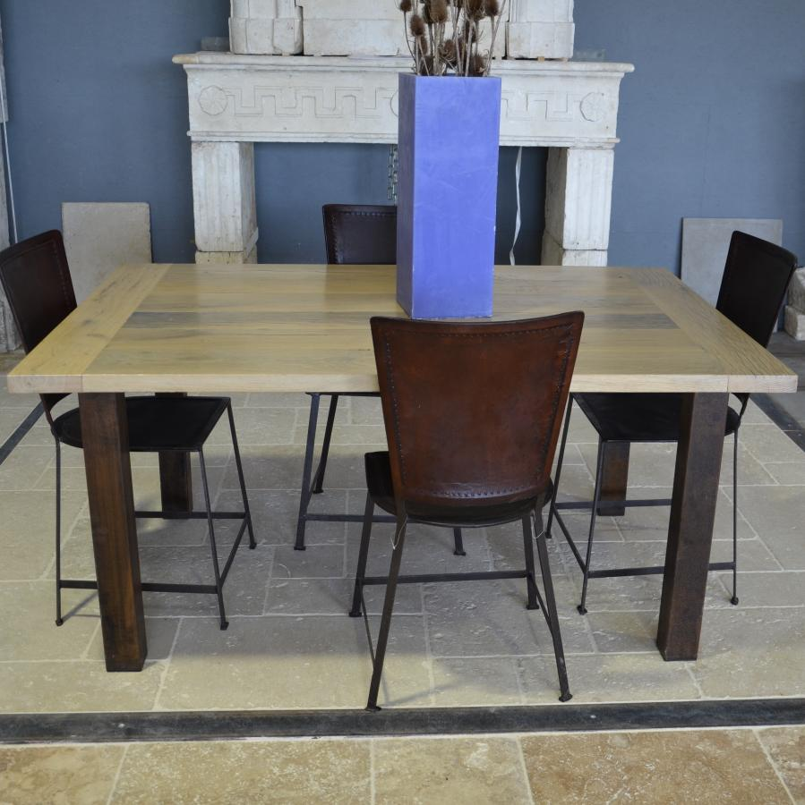 Table Rectangulaire Vieux Chene