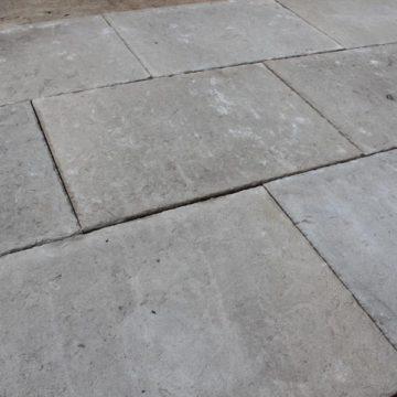 Dallage en pierre Bar Provençal gris
