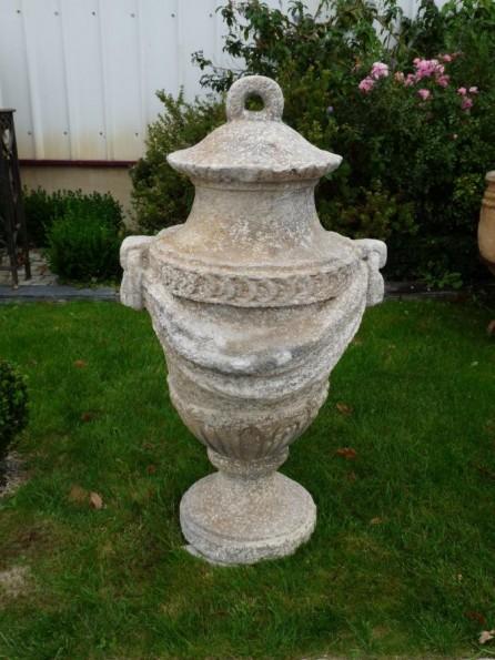 vase d 39 ornement l 39 ancienne hauteur 114 cm bca mat riaux anciens. Black Bedroom Furniture Sets. Home Design Ideas
