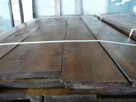 plancher ancien ch ne massif patin cir bca mat riaux anciens. Black Bedroom Furniture Sets. Home Design Ideas