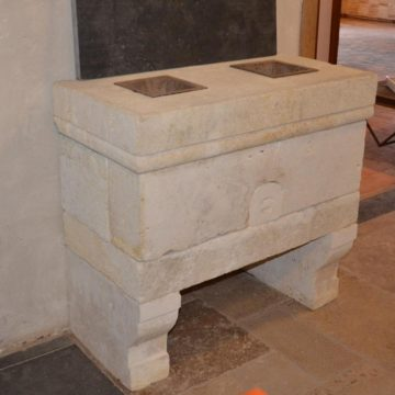 Potager ancien en pierre