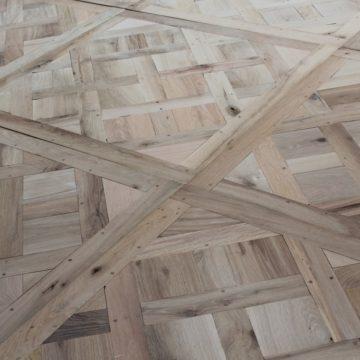 panneaux de Versailles en vieux chêne