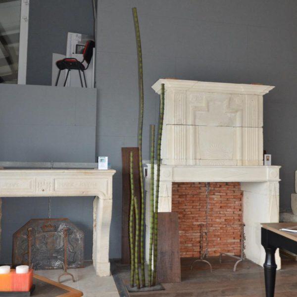 Grand cactus en métal