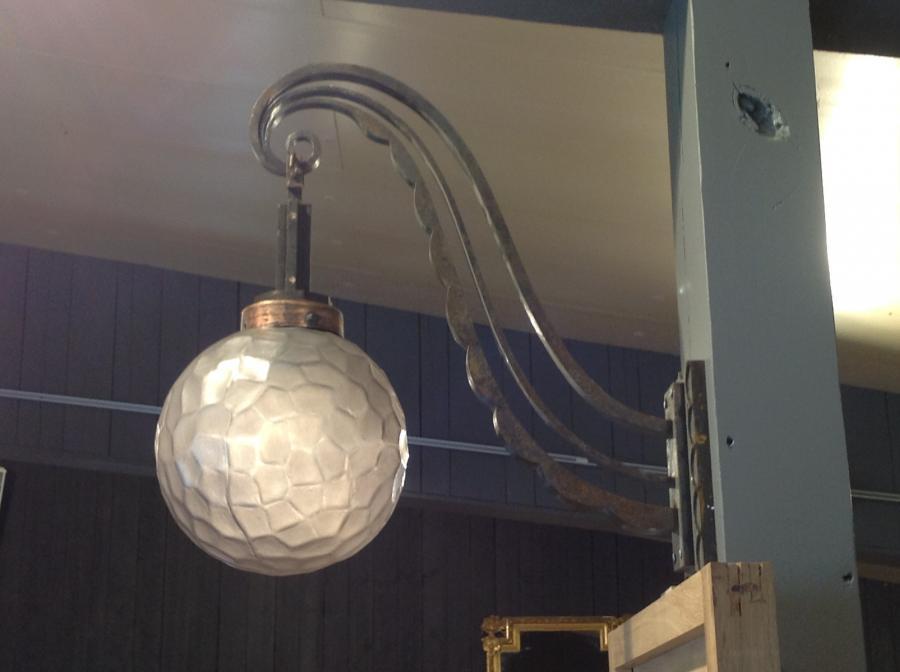 Grande lanterne ext rieur en fer forg bca mat riaux anciens - Grande lanterne exterieur ...