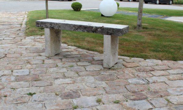 banc pierre calcaire