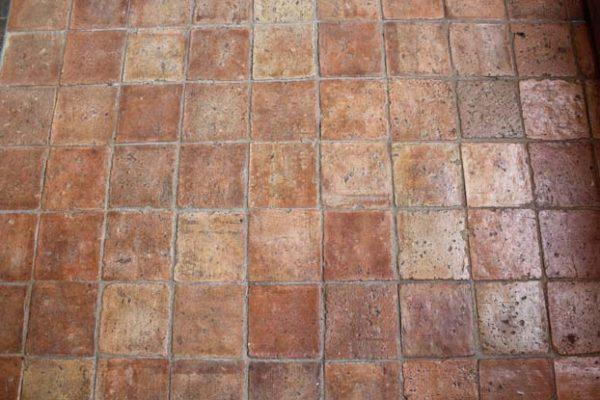 Tomette ancienne en terre cuite 16x16 format carré