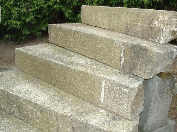 Escalier exterieur ancien