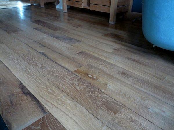plancher ancien vieux chêne