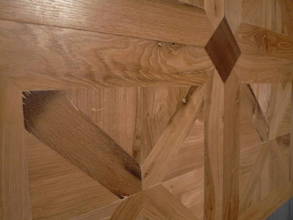 French parquet panels