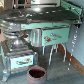 Cuisinière ancienne bois charbon