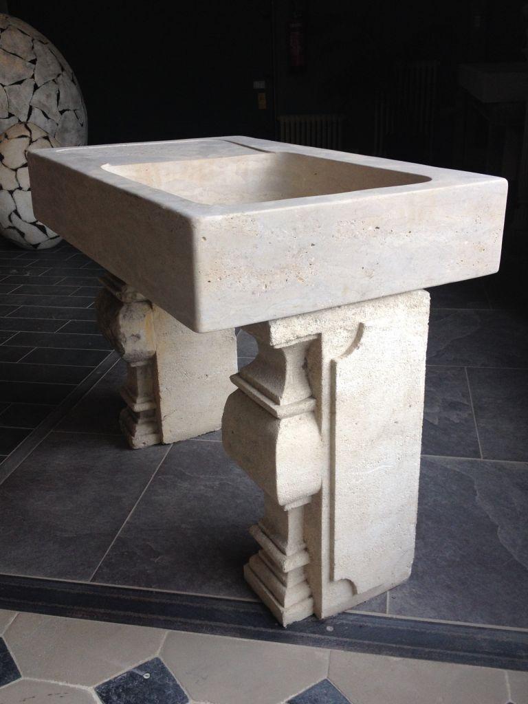 vier en pierre naturelle calcaire bca mat riaux anciens. Black Bedroom Furniture Sets. Home Design Ideas