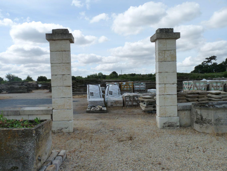 Piliers en pierre calcaire ancien bca mat riaux anciens - Bassin ancien pierre vendre aulnay sous bois ...