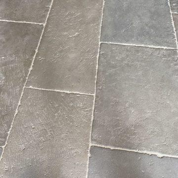 dalle normande en pierre calcaire