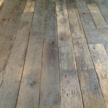 plancher wagon chene gris
