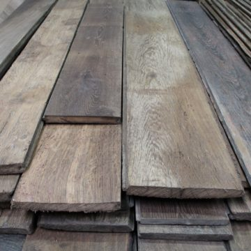 planches vieux bois en chêne