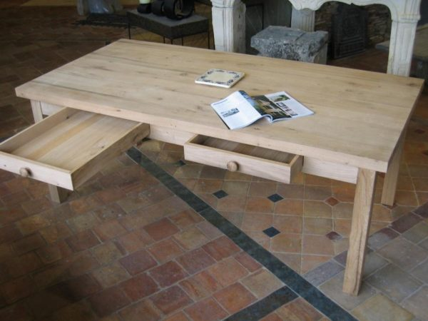 table vieux chene