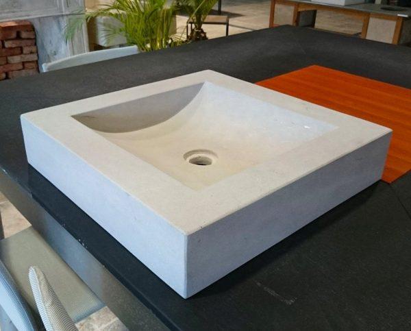 Vasque en mera gris naturelle