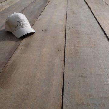 vieux plancher keruing