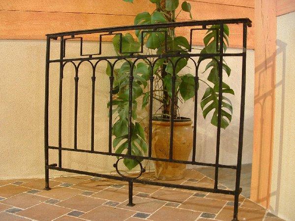 balcon ancien en fer forg 120 x 95 cm bca mat riaux anciens. Black Bedroom Furniture Sets. Home Design Ideas