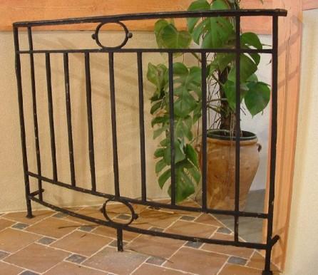balcon ancien fer forg 120 x 100 cm bca mat riaux anciens. Black Bedroom Furniture Sets. Home Design Ideas
