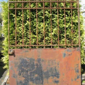 Portail de jardin en fer forgé