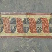 frise de carreaux anciens en ciment 20x20 cm bca. Black Bedroom Furniture Sets. Home Design Ideas