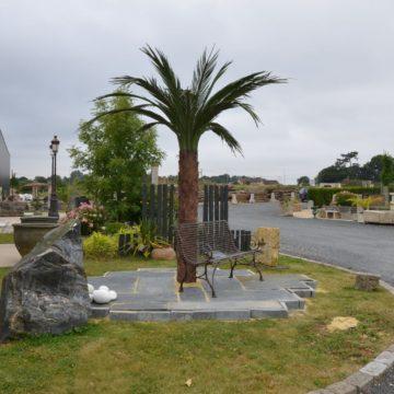 Palmier en métal