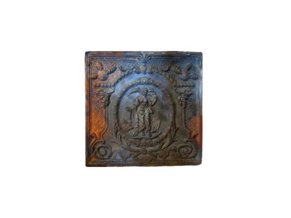 Petite plaque de cheminée ancienne
