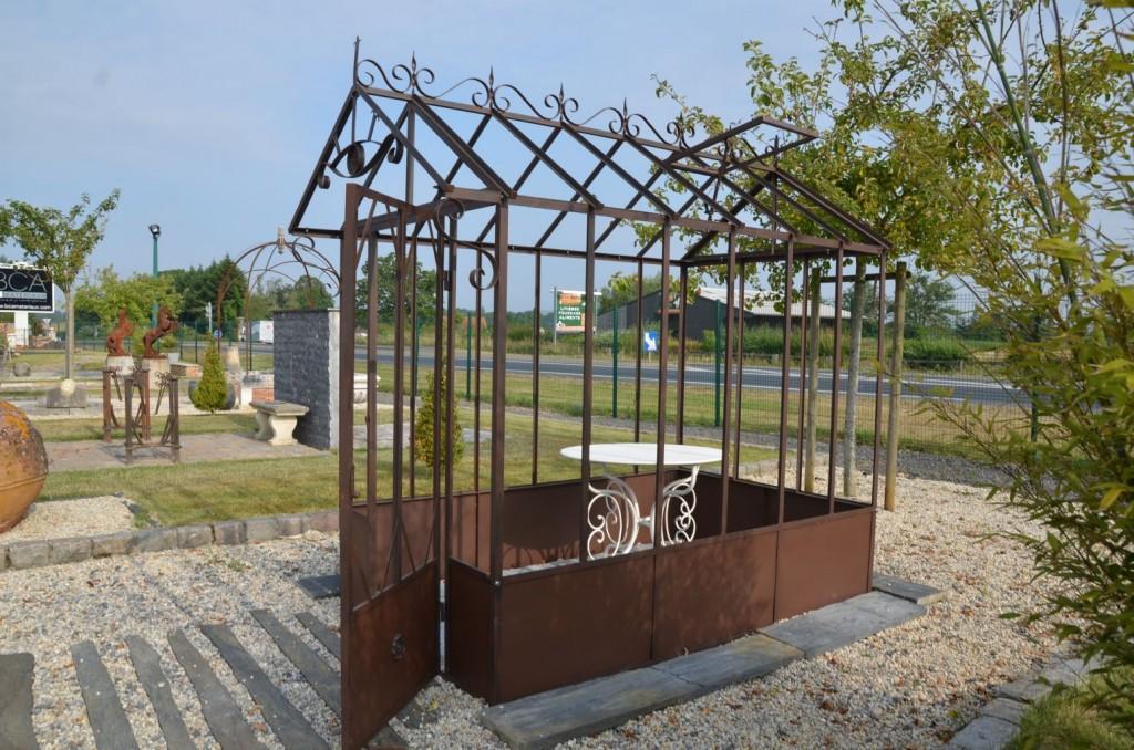 Serre de jardin à l\'ancienne - Fer forgé | BCA Matériaux Anciens